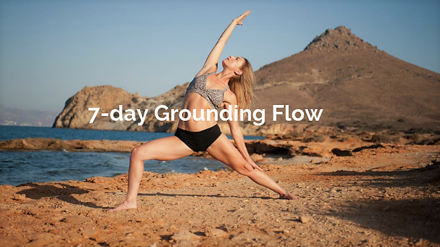 7-day Grounding Flow www.anapnoeyoga.com